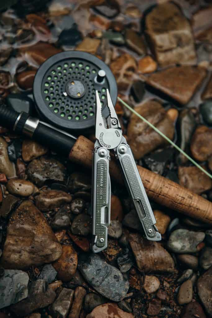 one of the best fishing multi tools on a fly rod