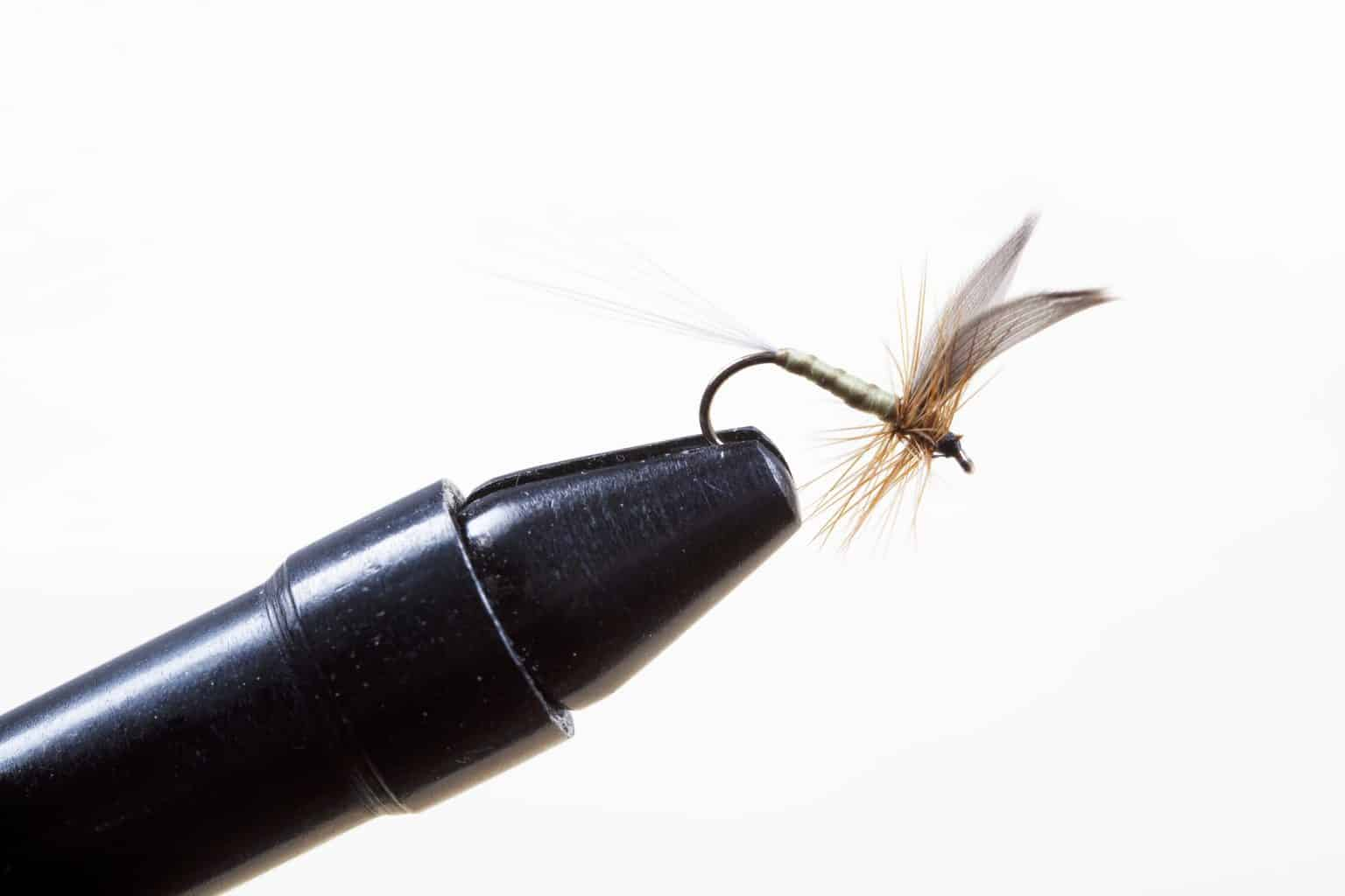 In the best fly tying books you will learn how to tie a fly like this